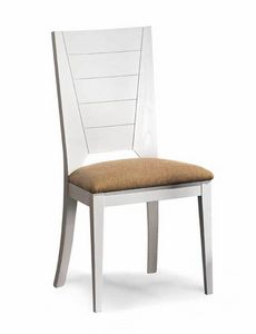 Art. 193/S, Dining chair with stuffed seat