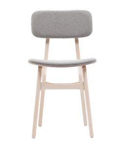 ART. 309-IM-BK ROSE, Padded wooden chair