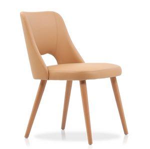 ART. 312-IM LIZ, Padded wooden chair