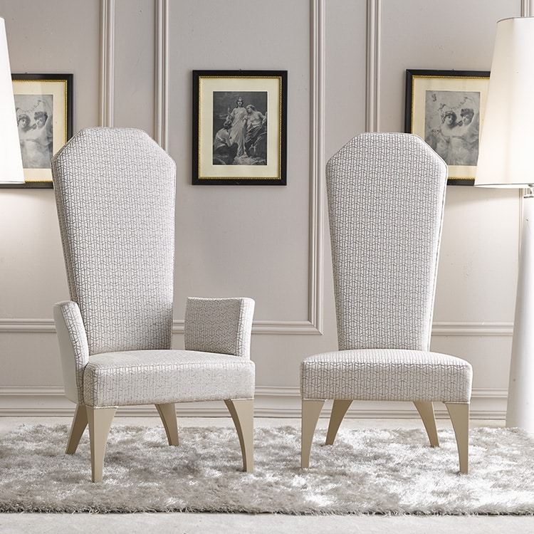 BS375A - Chair, Imperial chair with armrests