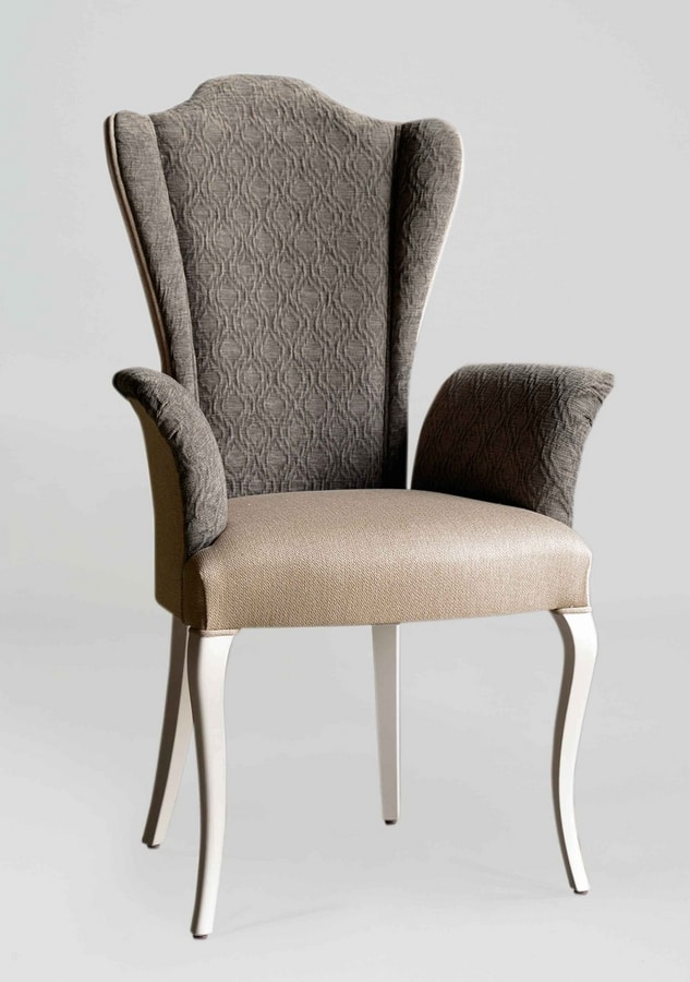 BS420A - Chair, Chair with armrests and high back
