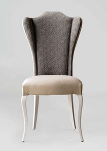 BS420S - Chair, Upholstered chair with high back