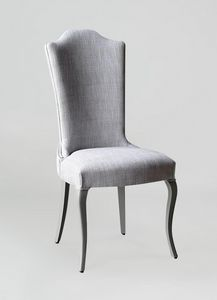 BS428S - Chair, Chair upholstered with high back