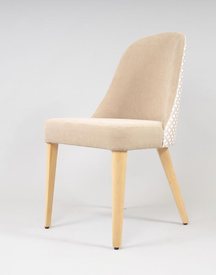 BS438S - Chair, Upholstered chair, contemporary style