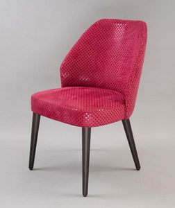 BS476A - Chair, Upholstered chair with upholstered back