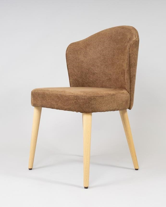 BS478S - Chair, Chair in beech wood with upholstered seat