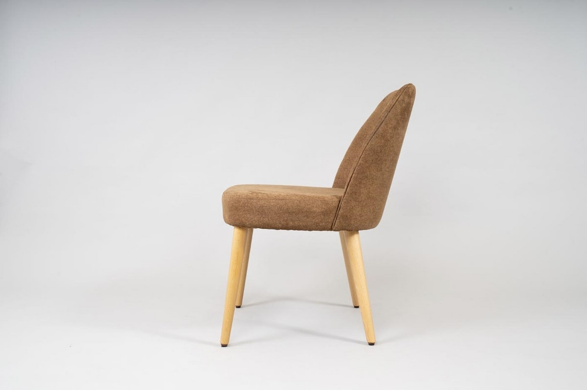 BS479S - Chair, Chair covered in eco nabuk