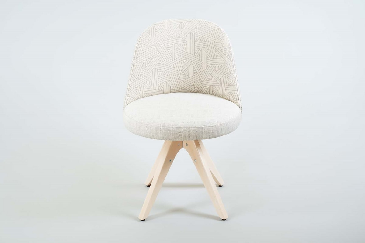 BS560S – Chair, Padded chair with trestle base