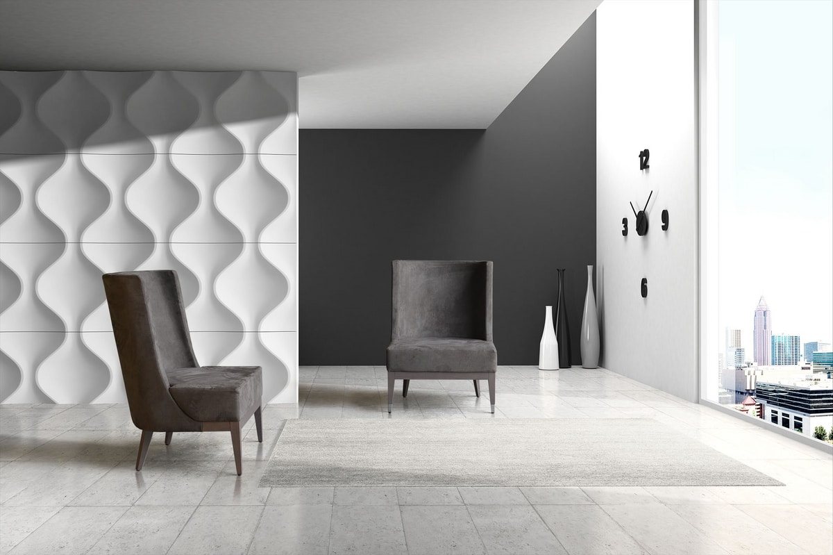BS601A - Chair, Chair upholstered in Nabuk eco-leather
