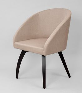 BS602A - Chair, Chair with technical linen covering