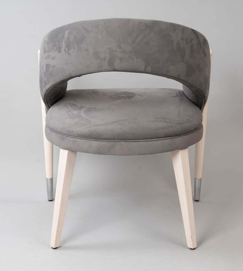 BS604A - Chair, Chair upholstered in Nubuck