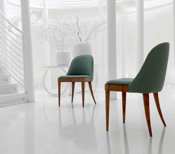 C-144, Chair with enveloping backrest