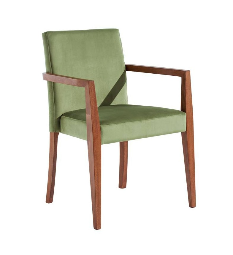 C03BPSTK, Stackable chair with armrests