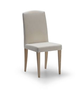 Chair Coco 095, Upholstered chair with high back