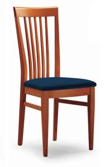 Cipria, Chair with vertical slats backrest