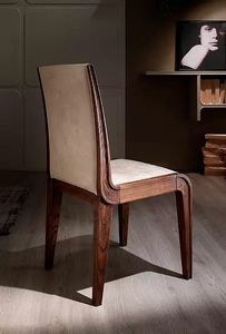 Cleo, Lightly padded wooden chair