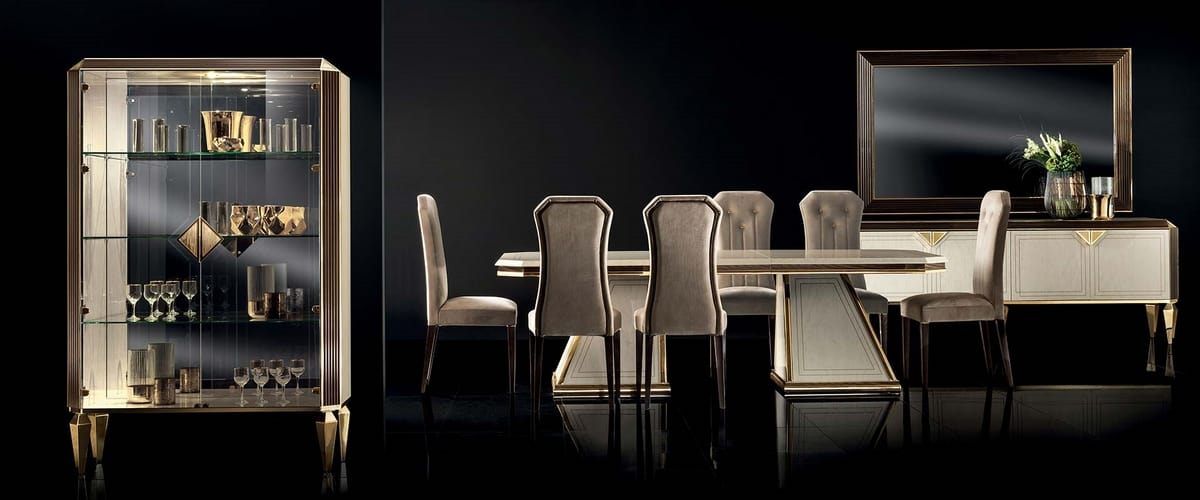 DIAMANTE chair, Elegant chair for dining room