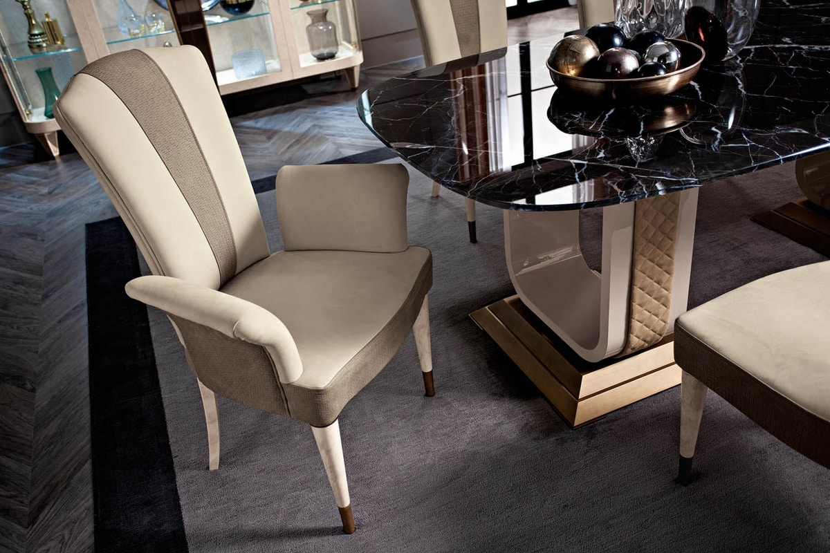 Diamond chair, Upholstered dining chair