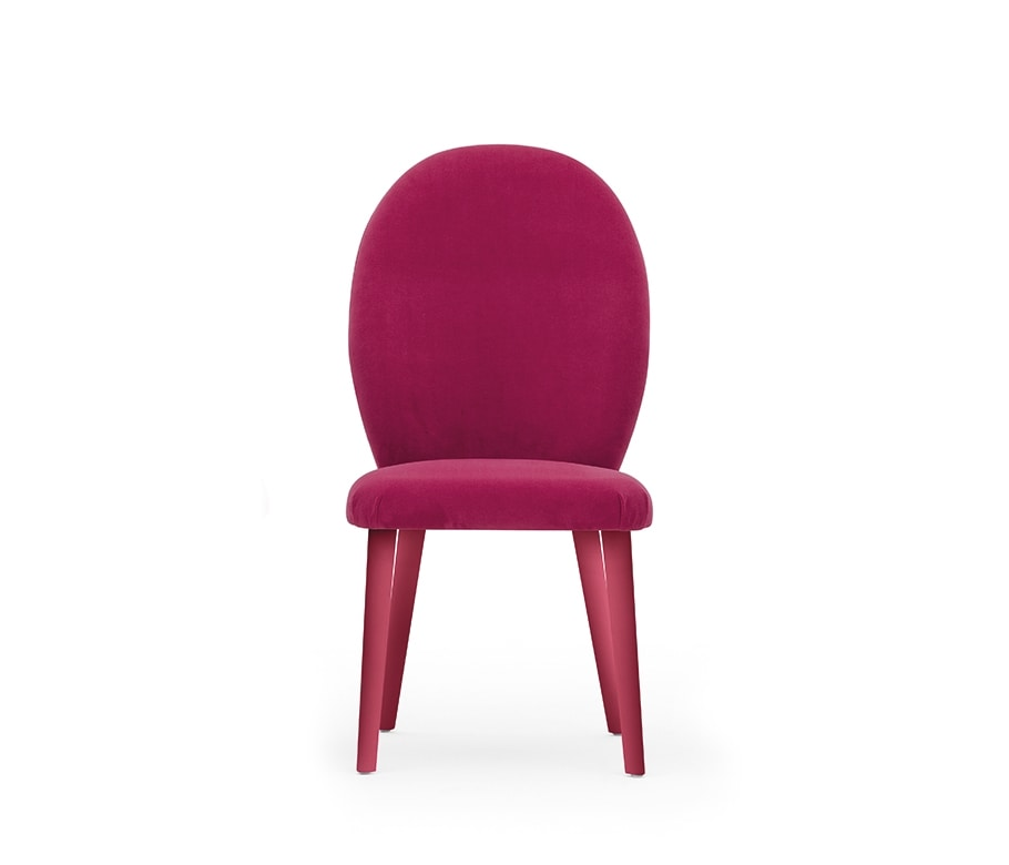 Diva 04611, Chair with a clean and elegant design