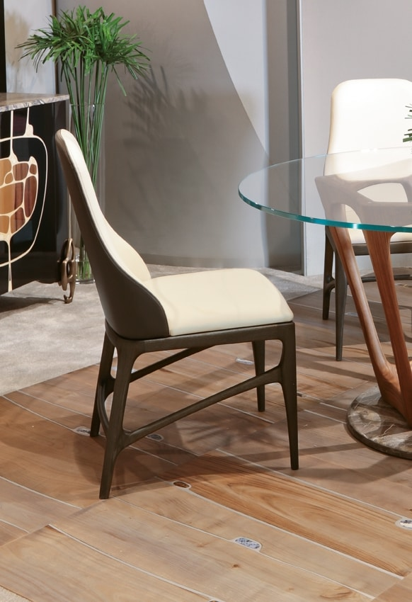 ELARA Chair, Chair with a refined design