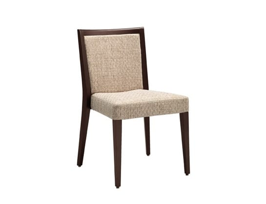 Fan 212, Stackable restaurant chair, padded