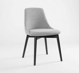 FIRENZE, Modern chair with soft shapes