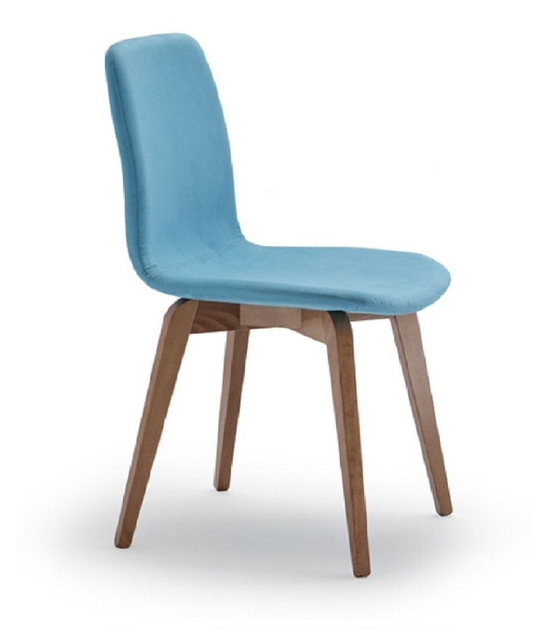 Frida, Upholstered chair for kitchen