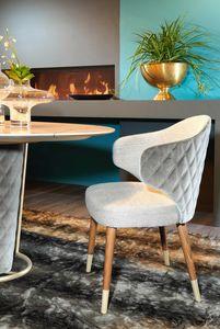 Gilda, Enveloping dining chair
