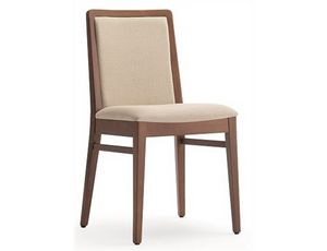 Godiva-S1, Dining chair, can be upholstered with customer fabric