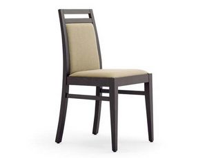 Guenda-S1, Banquet chairs, in wood, padded