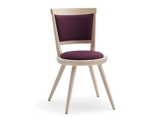 Isolda-S2, Upholstered chair with round seat