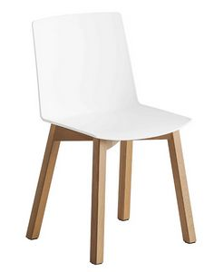 Jubel BL, Chair with beech wood structure