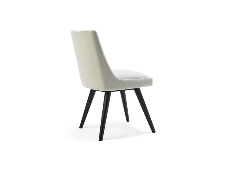 Kara-S, Elegant upholstered chair for hotel rooms and dining room