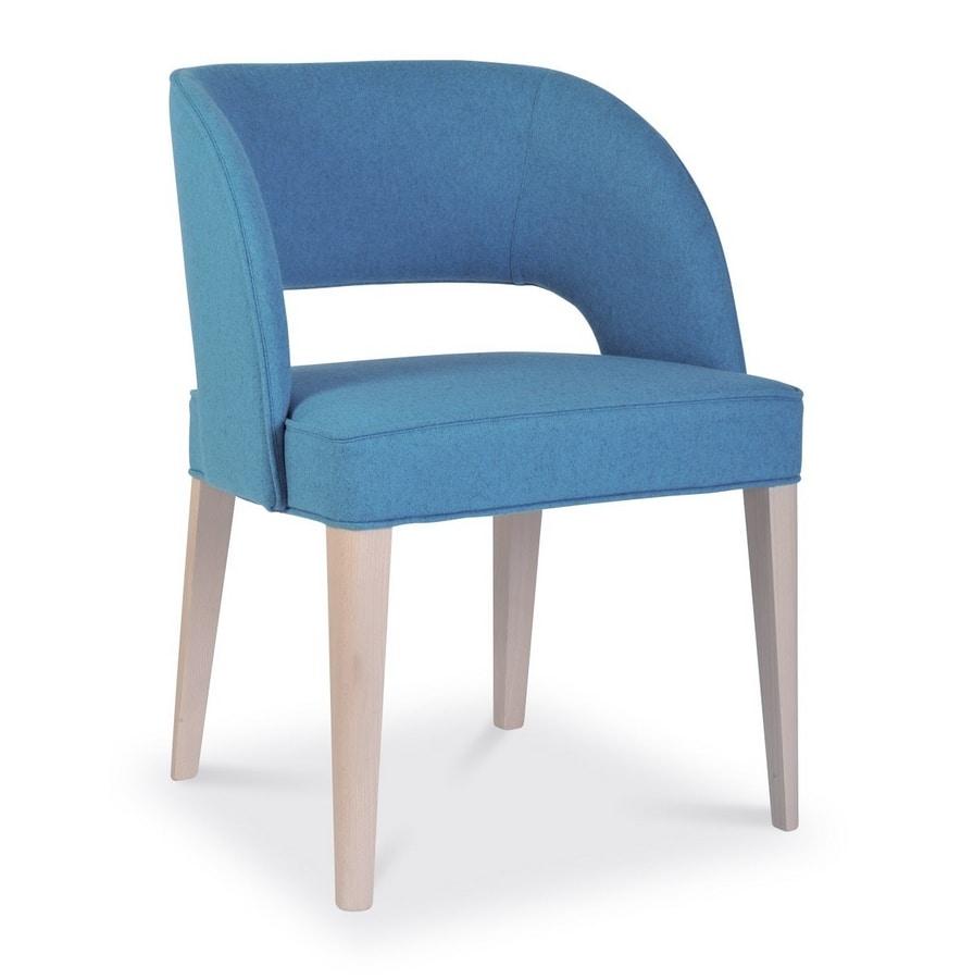 Kobe, Modern upholstered chair