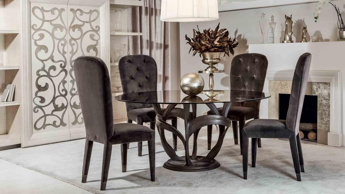 Liz high, Evergreen classic-design chair