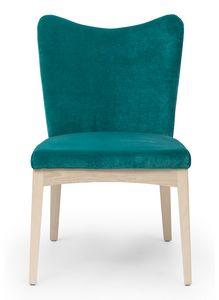Love, Padded chair with shaped back