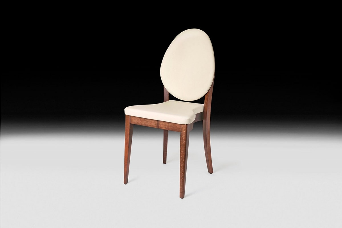 Malaga, Chair with oval back