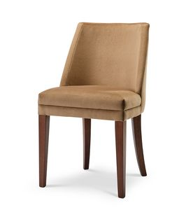 MILANO S, Upholstered chair without armrests
