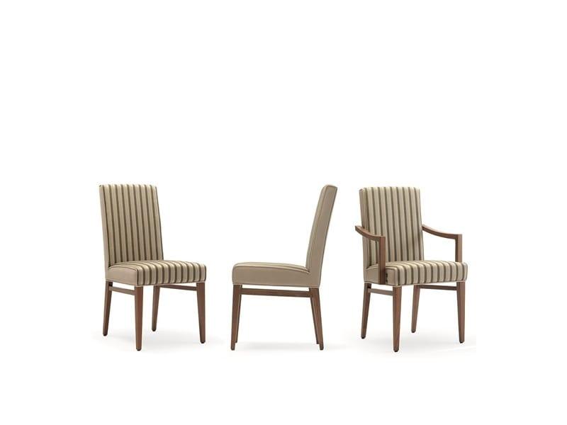 Milena-S, Comfortable upholstered chair for restaurant