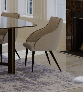 Milly, Upholstered dining chair