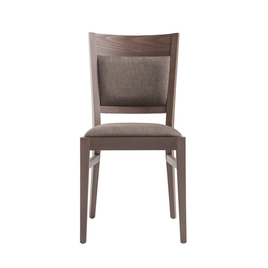 MP472B, Wooden chair padded