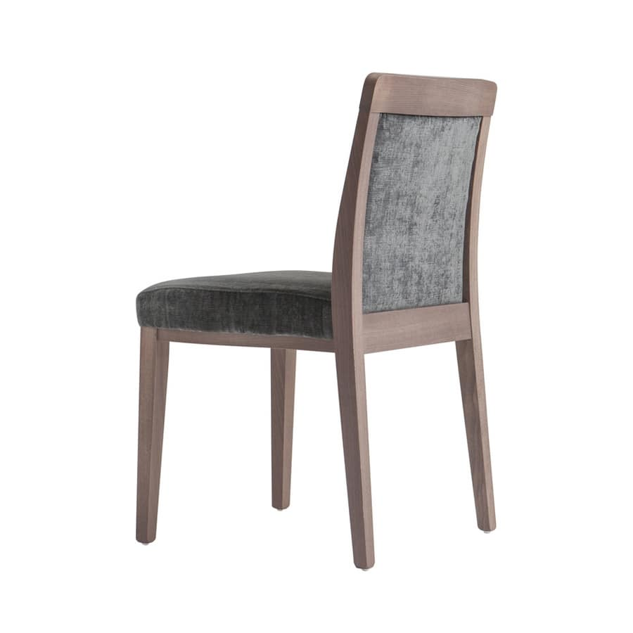 MP49EF, Stackable chair for restaurant
