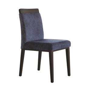 MP49L, Upholstered chair for restaurant