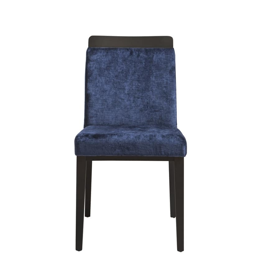 MP49L, Upholstered chair for restaurant