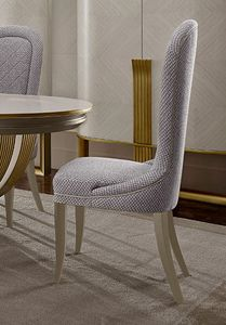 Oliver Art. OL10, Simple and sophisticated dining chair