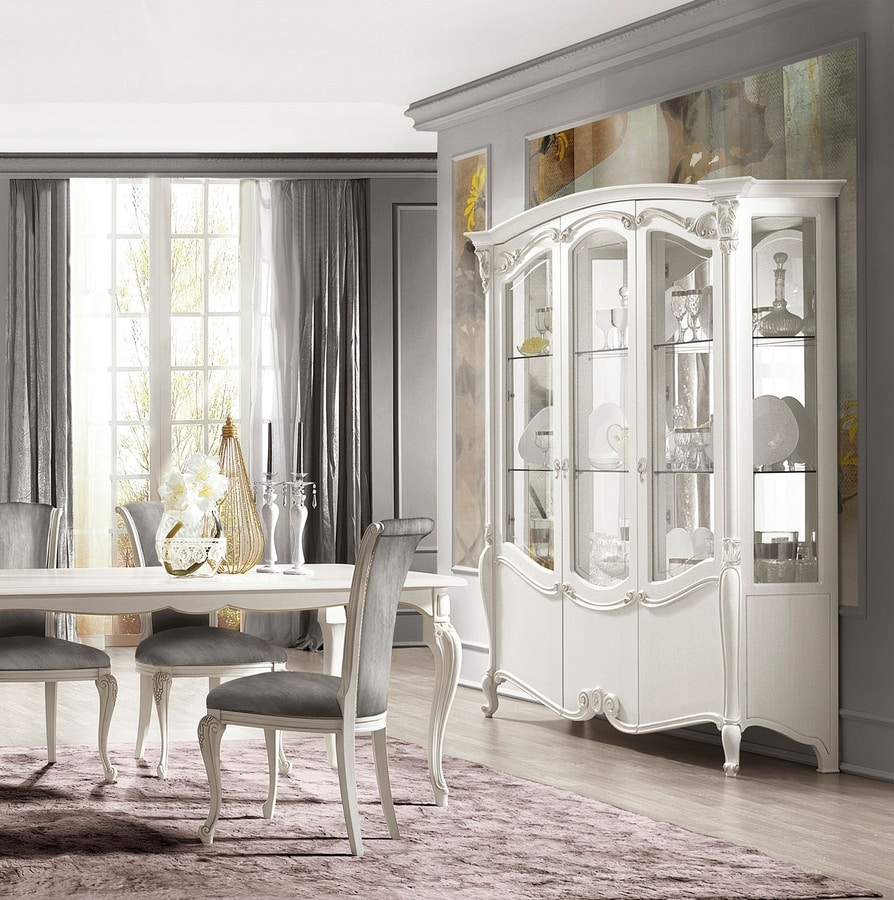 Puccini Art. 7612, Upholstered dining chair