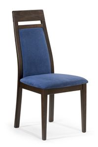 Roby C, Restaurant chair with tall backrest