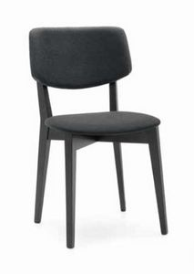 Ruth, Padded chair with fabric lining