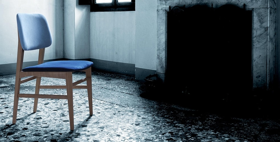 Savina 5105/F, Padded wooden chair