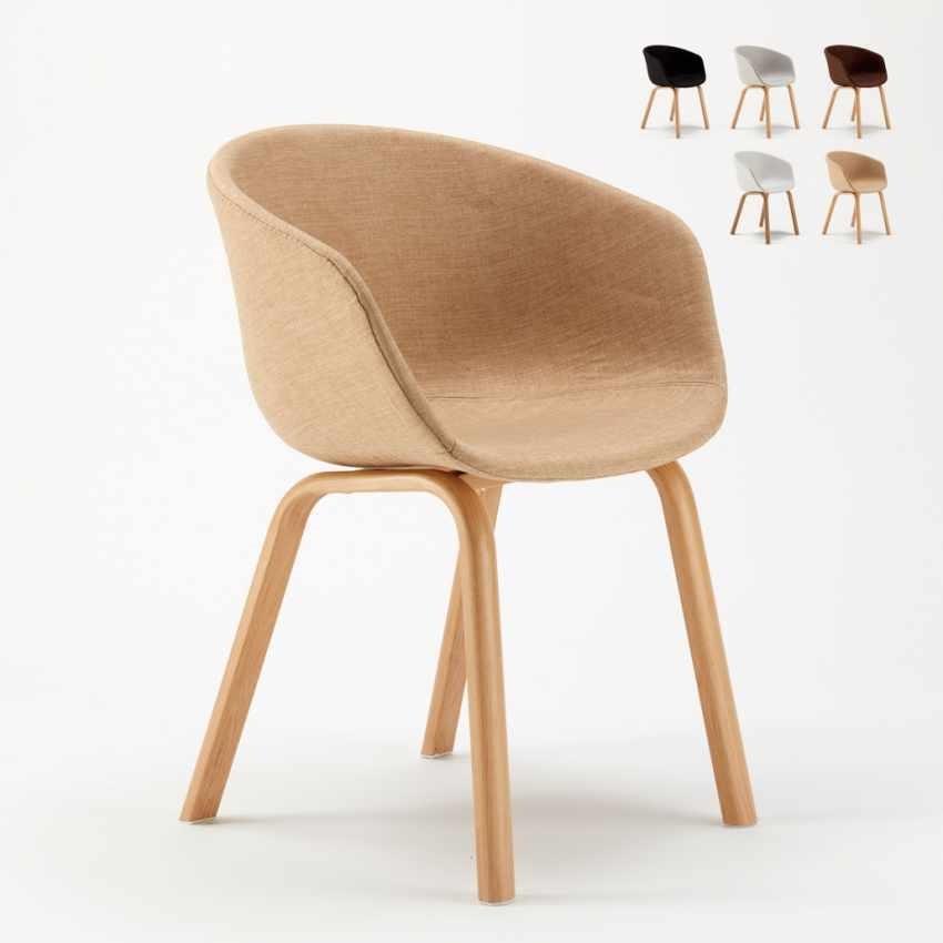 Sedie Cucina Metallo.Upholstered Upholstered Chair Idfdesign